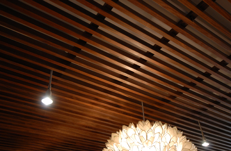 image of wood ceiling