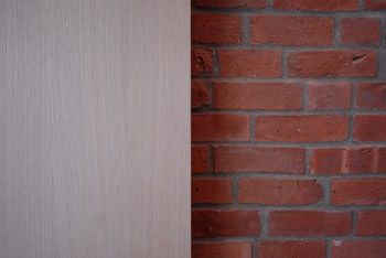 image of wood and brick